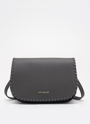 Beymen Messenger / Askılı Çanta Gri